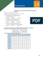 14. Estadística bidimensional