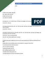 HANA Document