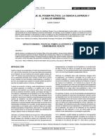 Hipólito Unanue El Poder Político, La Ciencia Ilustrada y La Salud Ambiental