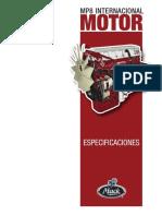 Sistemas del motor MP8