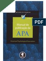 Apa 2012 - Manual de Publicação Da Apa 6a Ed