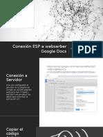 Conexión ESP a webserber Google Docs.pptx