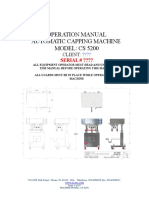 CS 5200 Operating Manual