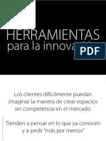 Innvovacion - Marketing - Diseño Industrial - FADU