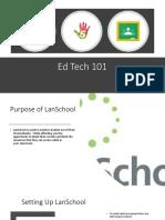 lanschool and google classroom