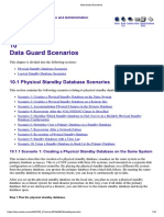 Data Guard Scenarios