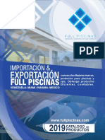 Catalogo de Full Piscinas Corp