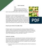 Plan de Marketing Bocadillos El Ruiz