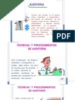Tecnicas y Proc de Auditoria