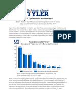 Ut Tyler Releases November Poll Final 11.19