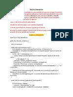Ejercicios Subprogramas