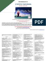 Programa Mystic Fair 2019