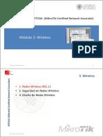 MTCNA - CFP UPV - Módulo 3 - Redes Wireless