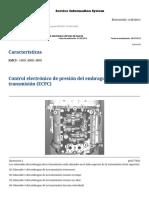 Características Del Control Eléctrico de La Tmsn