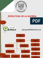 Estructura de La Materia 2018