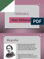 Presentación Mary Richmond