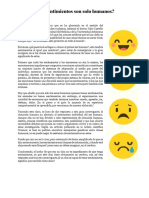 ¿Los sentimientos son solo humanos_ Iván La Madrid.docx