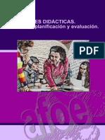 Unidades didácticas. Elaboración, planificación y evaluación
