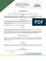 Acuerdo Del Presupuesto Vigencia 2018