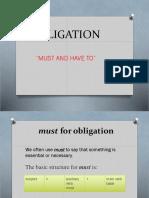 Obligation Ppt
