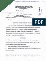 Garrick Second Amended Complaint