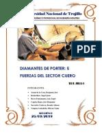 DIAMANTES DE PORTER DEL SECTOR CALZADO-TRUJILLO
