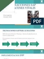 Transacciones SAP Para Almacenes