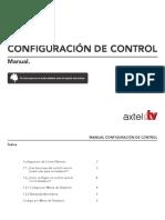 Configurar control axtel