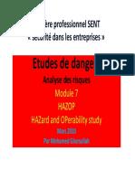 méthode d'évaluation des risques HAZOP