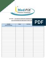 Lista Interesados en Medfit