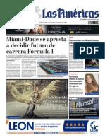 DIARIO LAS AMÉRICAS Edición digital del lunes 18 de noviembre de 2019
