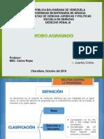 01 Slideshare Actividad 1 - Derecho Penal 3 - Juankly Colina - Robo Agravado