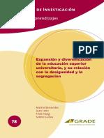 Perú. Benavides2015_ExpansionYDiversificacionDeLaES.pdf