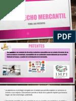 Derecho mercantil''PATENTES''.pptx
