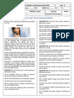 Leitura e Interpretação de Texto em Inglês
