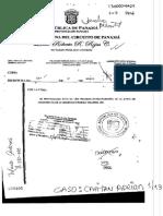 Junta de accionistas de la sociedad panameña Crasqui Holding, de Maximilian Camino Beran y Adrián Velásquez Figueroa