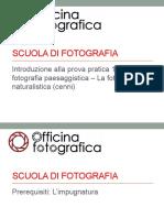 08 - Pratica 1 - Paesaggistica Naturalistica (Cenni)