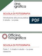 10 - Pratica 3 - Ritratto in Studio - Le Pose