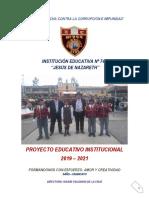 PEI 2019 - I.E.N°744 JESUS DE NAZARETH-SAÑO