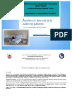 Protocolo de Desinfeccion Terminal de La Unidad Del Paciente