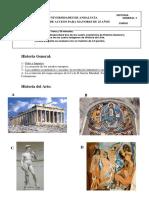 Examen Historia General y Del Arte Resuelto