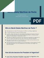 Mariá Estela Martínez de Perón