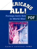 (Williams-Ford Texas a&M University Military History Series) Dr. Nancy Gentile Ford - Americans All!_ Foreign-born Soldiers in World War I -TAMU Press (2001)