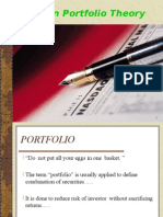 Modern Porfolio Theory by p.rai87@Gmail