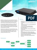 DCM750 IPTV Gateway IP Protocol Conversion Scenarios (1)