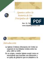 Apuntes para la historia de la Iglesia Cristiana (Discipulos de Cristo)