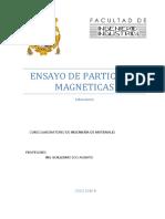 L9 - ENSAYO DE PARTÍCULAS MAGNÉTICAS