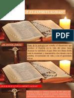 La Espiritualidad Cristiana.