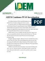 ADEM Press Release
