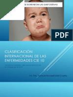 Clasificación Internacional de Las Enfermedades Cie 10